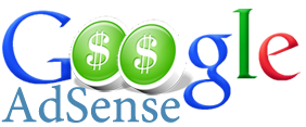 Google Adsense Logo with dollar icon